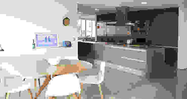 Apartamento Tobias Cozinhas modernas por SAO Arquitetura Moderno