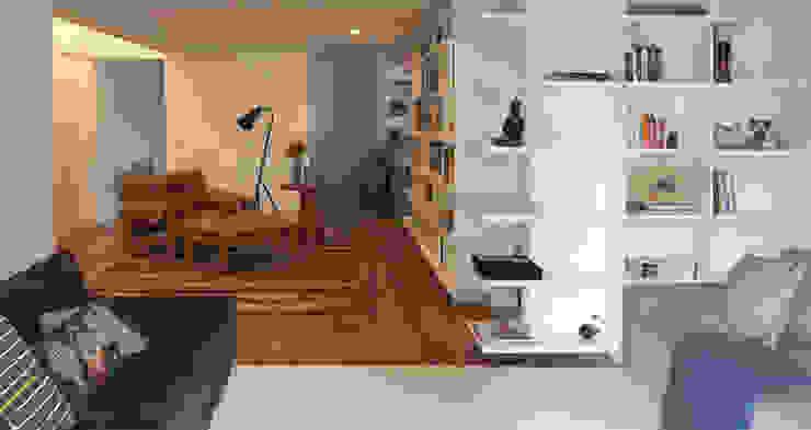 Salas de estilo moderno de SAO Arquitetura Moderno