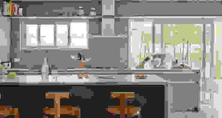 Cocinas de estilo moderno de SAO Arquitetura Moderno