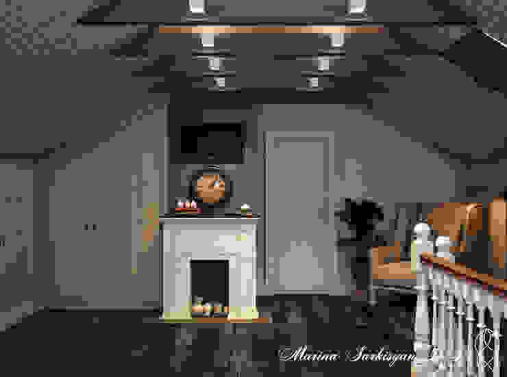 Country Living Гостиные в эклектичном стиле от Marina Sarkisyan Эклектичный