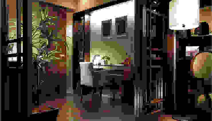 穏やかな時間の流れる住処 クラシックデザインの 多目的室 の STUDIO AZZURRO クラシック