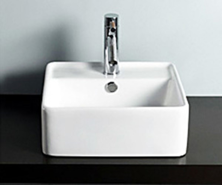 Lavabo sobre encimera Tall de The Bath Moderno