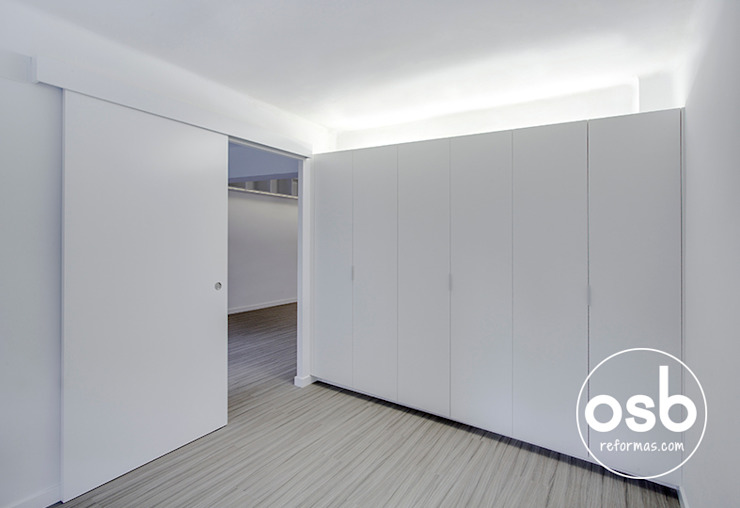Quartos minimalistas por osb arquitectos Minimalista