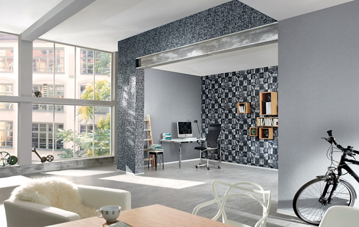 4 Duvar İthal Duvar Kağıtları & Parke Walls & flooringWallpaper