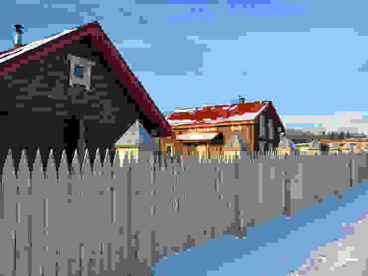 Усадьба под Волоколамском в традиционном стиле Дома в классическом стиле от Бюро Акимова и Топорова Классический