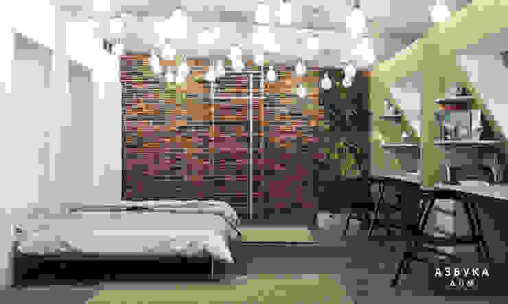 Лофт в г. Пушкин Студия дизайна 'Азбука Дом' Рабочий кабинет в стиле лофт