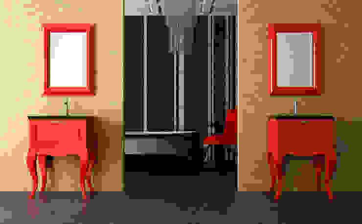 Coleccion NAIF lacado rojo de ARTEHOGAR Moderno
