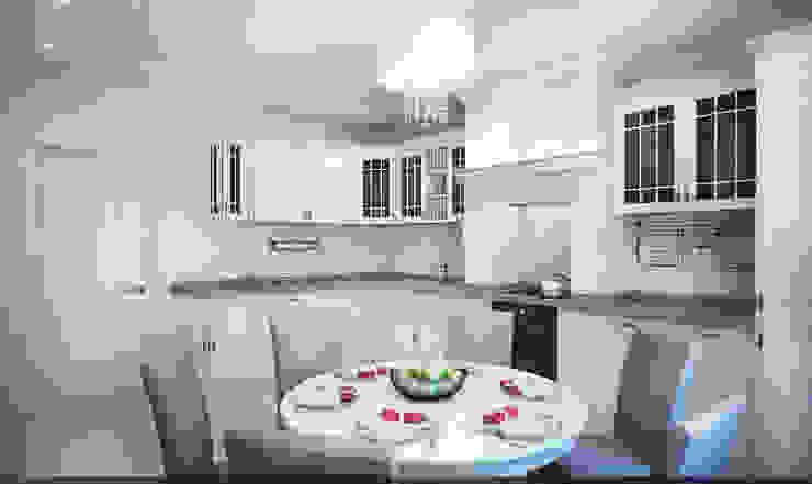 Петербургское настроение Кухня в классическом стиле от Reroom Классический