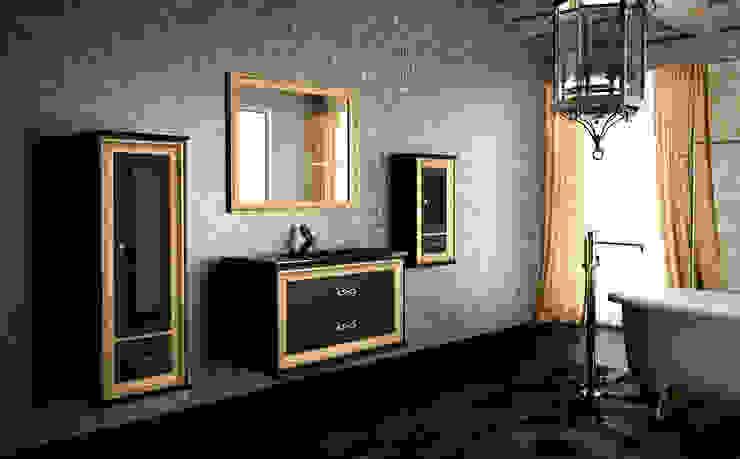 Coleccion SANSARA lacado negro-oro deluxe de ARTEHOGAR Moderno