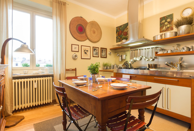 Filippo Fassio Architetto Modern Kitchen