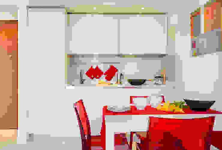 Living Cucina minimalista di Filippo Fassio Architetto Minimalista