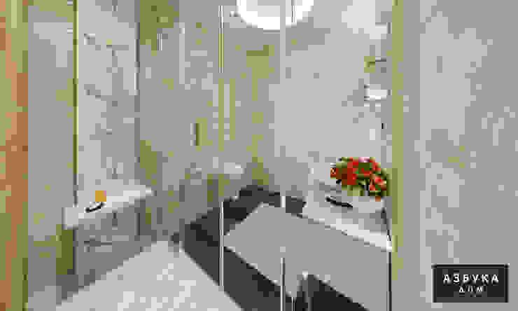 Студия дизайна 'Азбука Дом'が手掛けた浴室