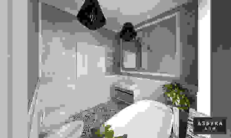 Квартира в историческом центре Санкт-Петербурга Ванная комната в эклектичном стиле от Студия дизайна 'Азбука Дом' Эклектичный