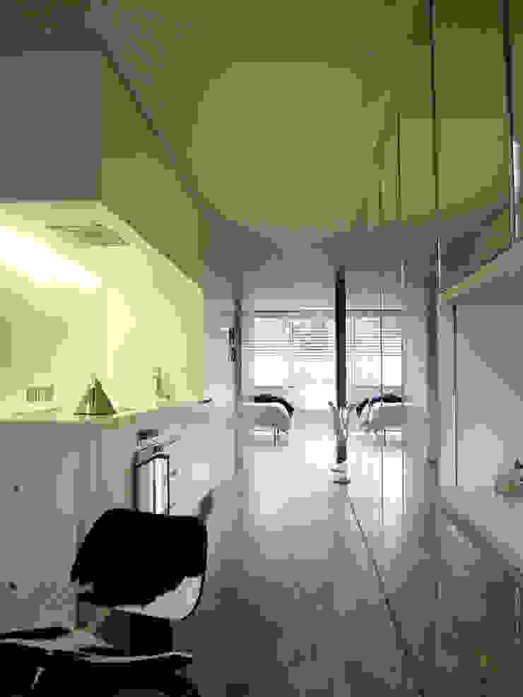 Apartment H Mackay + Partners 現代廚房設計點子、靈感&圖片