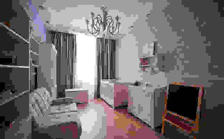 Квартира на Крестовском острове Детские комната в эклектичном стиле от Студия дизайна интерьера Маши Марченко Эклектичный