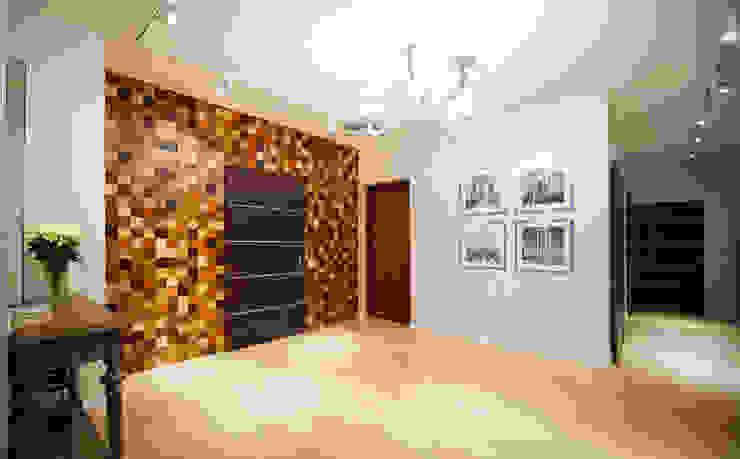 Квартира на Крестовском острове Коридор, прихожая и лестница в эклектичном стиле от Студия дизайна интерьера Маши Марченко Эклектичный