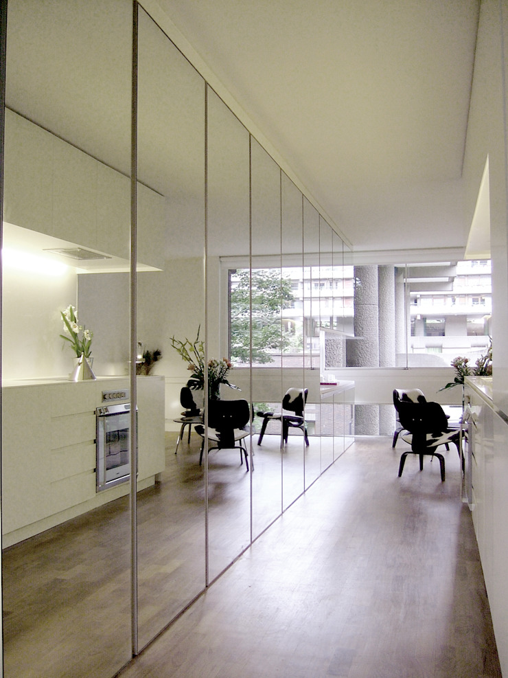 Apartment H Mackay + Partners 现代客厅設計點子、靈感 & 圖片