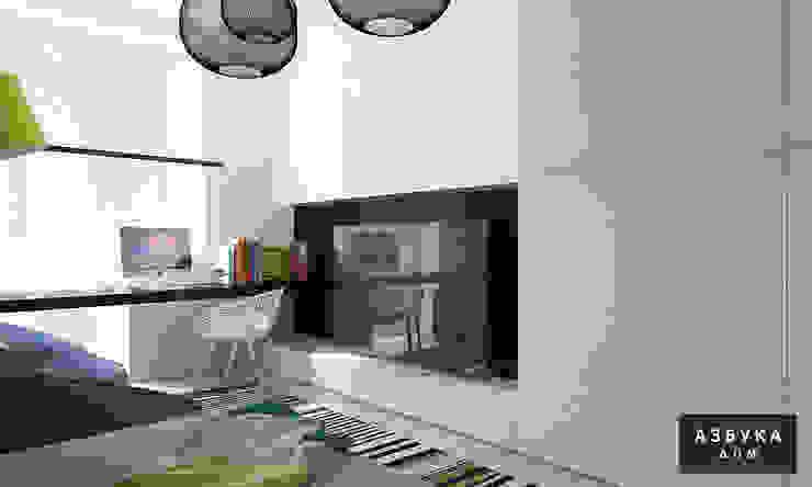 Пространство для жизни Детская комната в стиле модерн от Студия дизайна 'Азбука Дом' Модерн