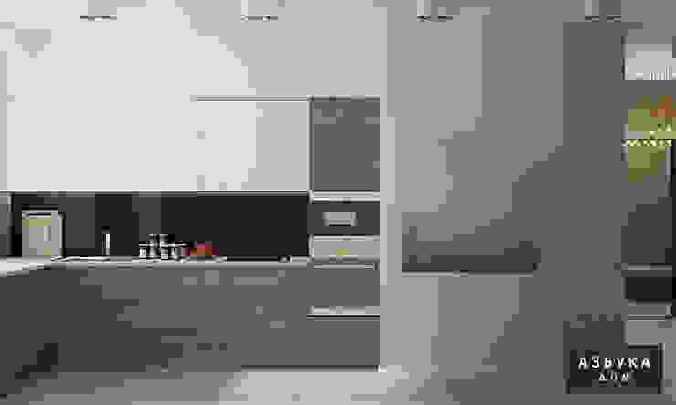 Пространство для жизни Кухня в стиле минимализм от Студия дизайна 'Азбука Дом' Минимализм