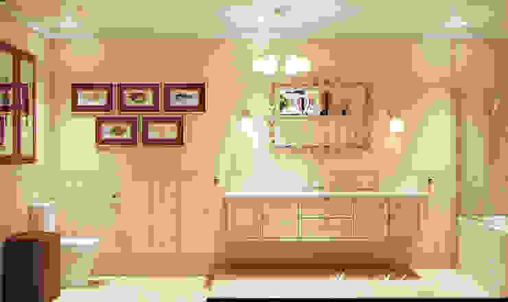 Country Living Ванная комната в эклектичном стиле от Marina Sarkisyan Эклектичный