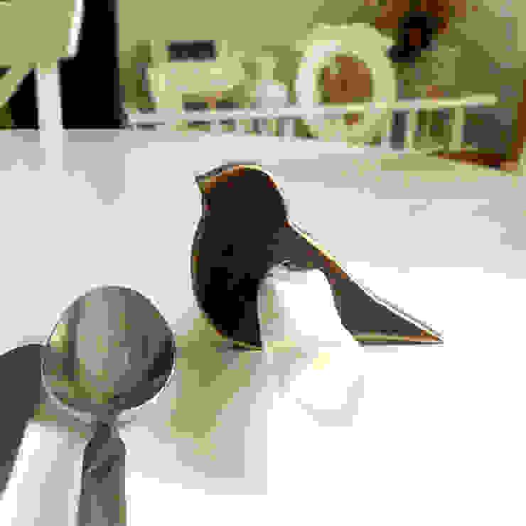 Ahşap Kuşlu Peçetelik Pons Home Design Rustik