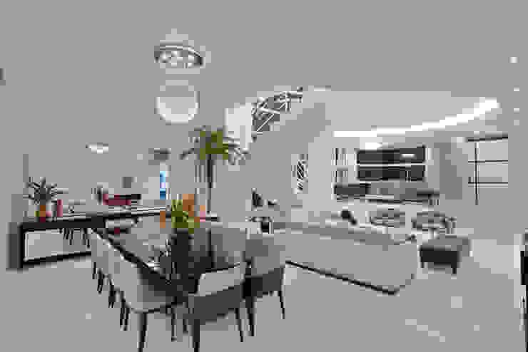 Casa Tamboré Salas de jantar modernas por Arquiteto Aquiles Nícolas Kílaris Moderno