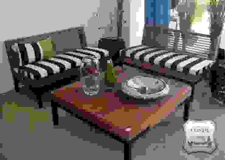 Tapicería Conde Balcon, Veranda & Terrasse modernes