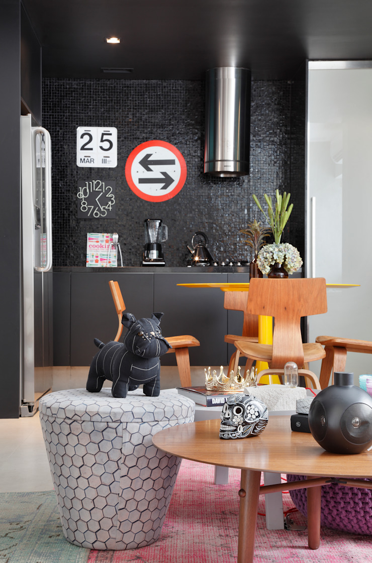 Studio ro+ca Modern dining room
