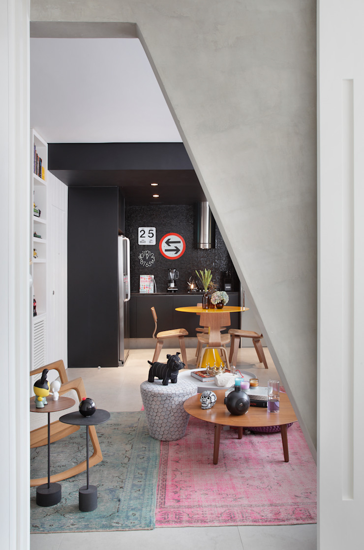 VF apartment Salas de estar modernas por Studio ro+ca Moderno