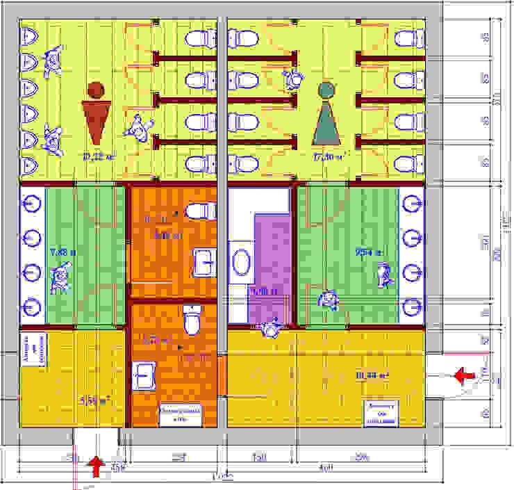 План туалета от Бюро Акимова и Топорова