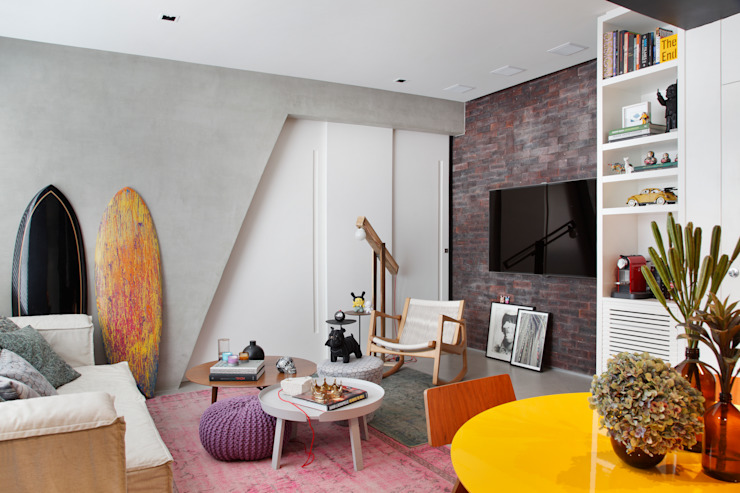 Studio ro+ca Modern living room
