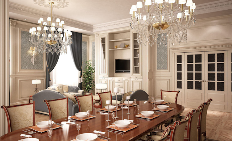 Классика в светлых тонах Детская комнатa в классическом стиле от Anfilada Interior Design Классический