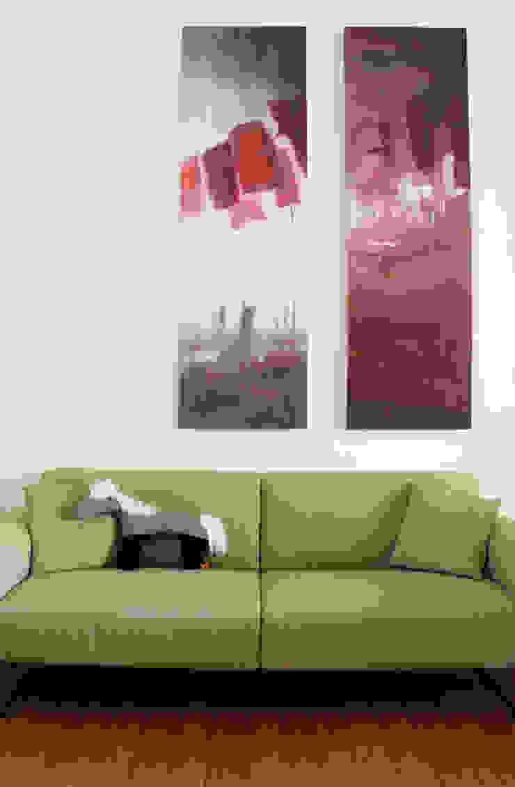 detail woonkamer Moderne woonkamers van studio k Modern