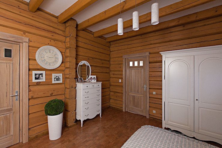 Дом Спальня в рустикальном стиле от Николай Карачев Рустикальный