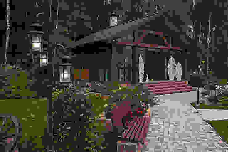 Николай Карачев Casas de estilo rústico