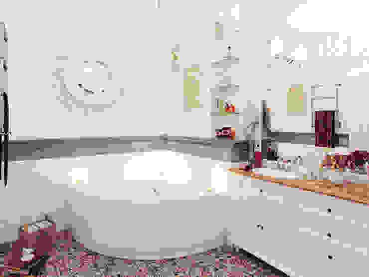 Квартира в ЖК <q>Парадный квартал</q> Ванная комната в эклектичном стиле от Студия дизайна интерьера Маши Марченко Эклектичный