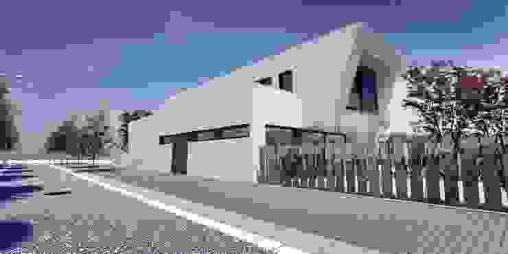 Proyecto Lleida Casas de estilo moderno de Acero Modular S.L Moderno