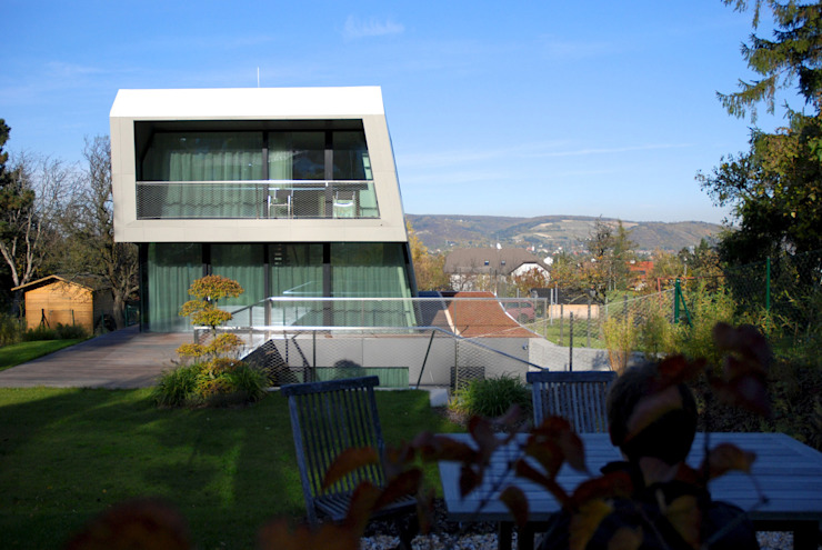 Haus H Moderne Häuser von x42 Architektur ZT GmbH Modern