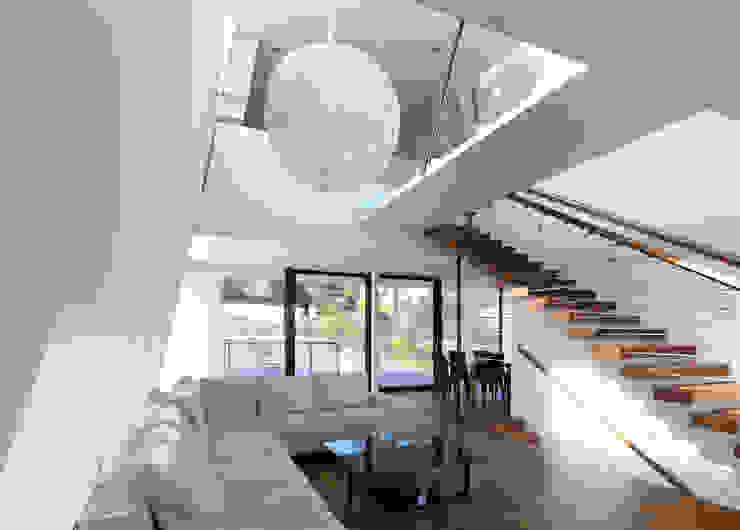 Haus H Moderne Wohnzimmer von x42 Architektur ZT GmbH Modern