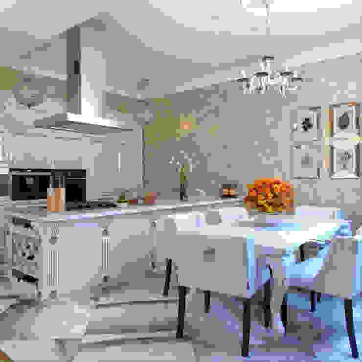 Phòng ăn phong cách chiết trung bởi Студия дизайна интерьера Маши Марченко Chiết trung