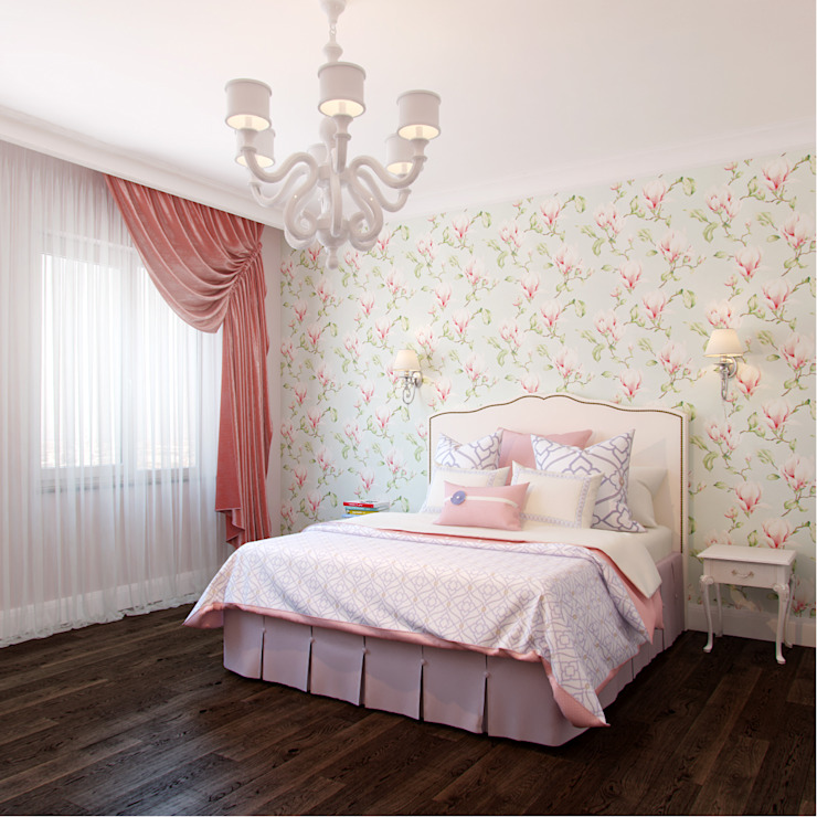 Phòng trẻ em phong cách chiết trung bởi Студия дизайна интерьера Маши Марченко Chiết trung