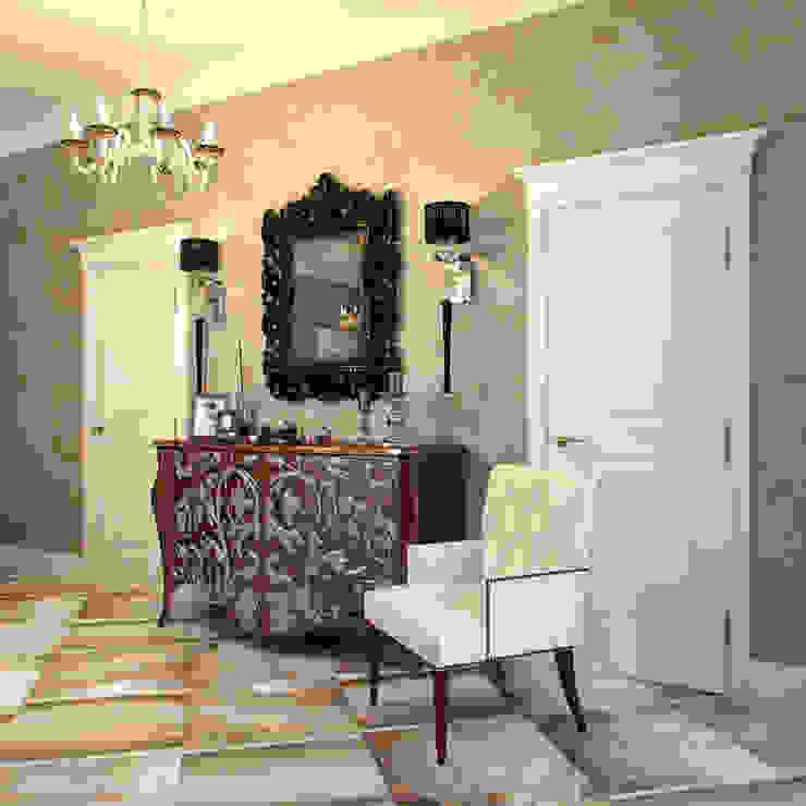 Hành lang, sảnh & cầu thang phong cách chiết trung bởi Студия дизайна интерьера Маши Марченко Chiết trung