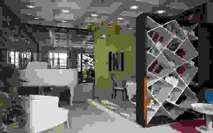 Музыкальная комната творческой натуры Гостиная в колониальном стиле от Anfilada Interior Design Колониальный