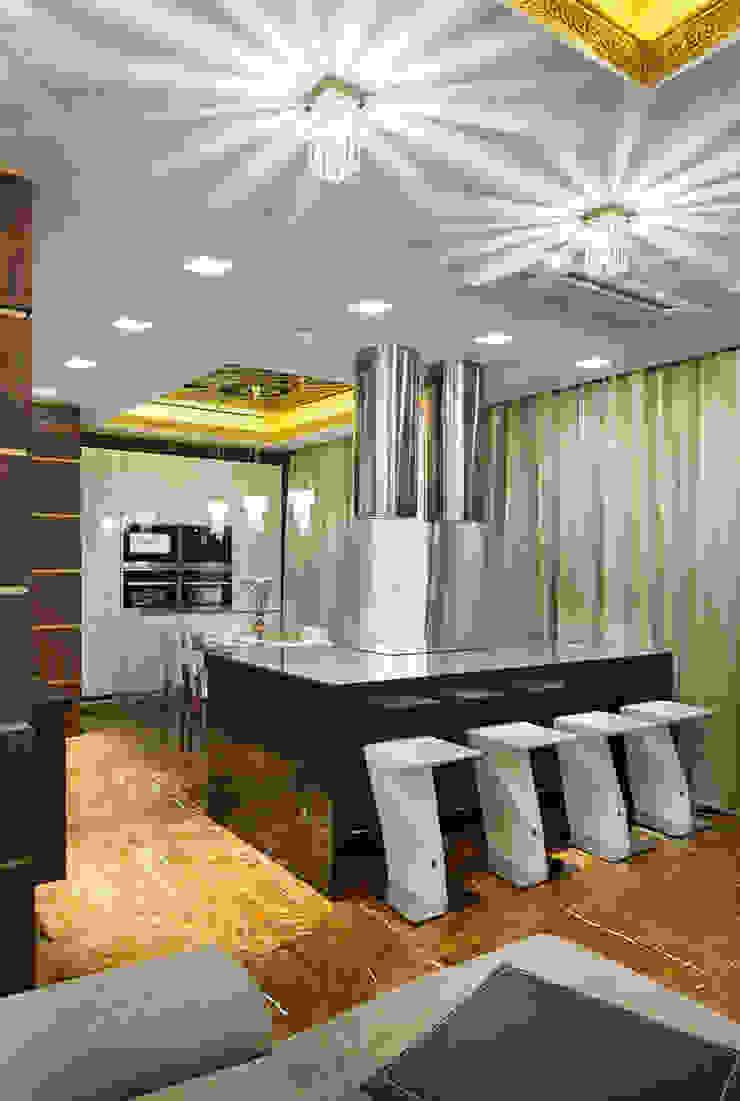 Двери RоbertoStracciaSTUDIO в проекте от <q>Арт Стиль</q> Кухня в стиле модерн от Bellissimo Door Модерн