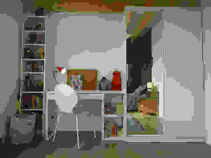 Kamar Bayi/Anak Modern Oleh CORTOT Architecture Interieure Modern