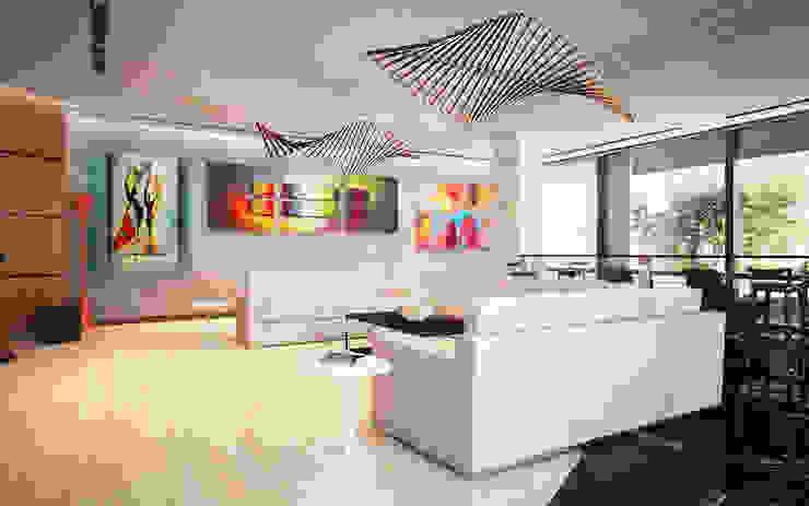 Minimalist living room by Anfilada Interior Design Minimalist