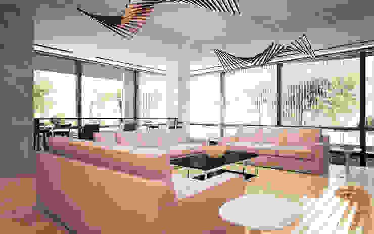Anfilada Interior Design غرفة المعيشة