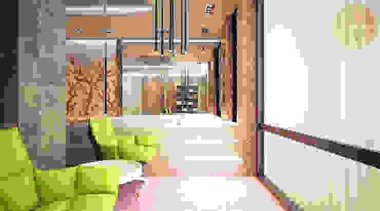 Baños de estilo minimalista de Anfilada Interior Design Minimalista
