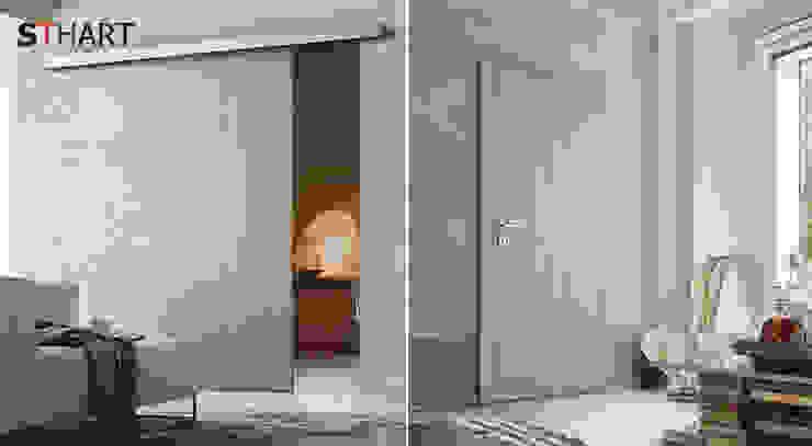 Коллекция STHART : Окна и двери в . Автор – Bellissimo Door