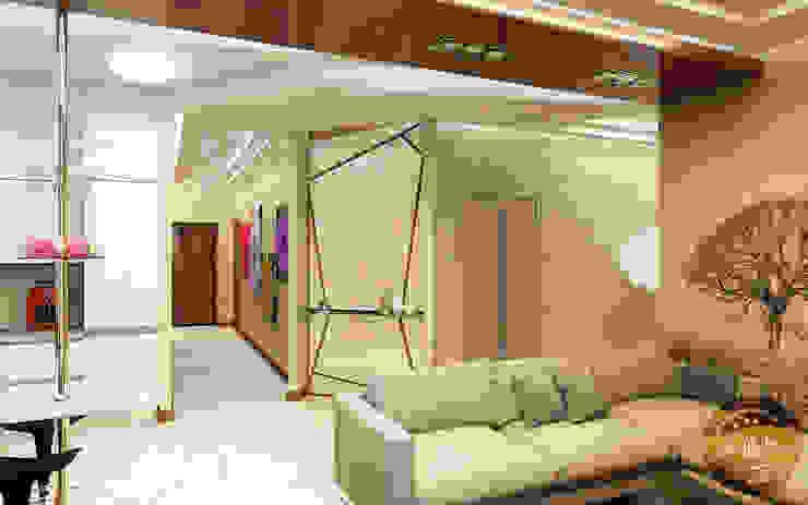 에클레틱 다이닝 룸 by Anfilada Interior Design 에클레틱 (Eclectic)